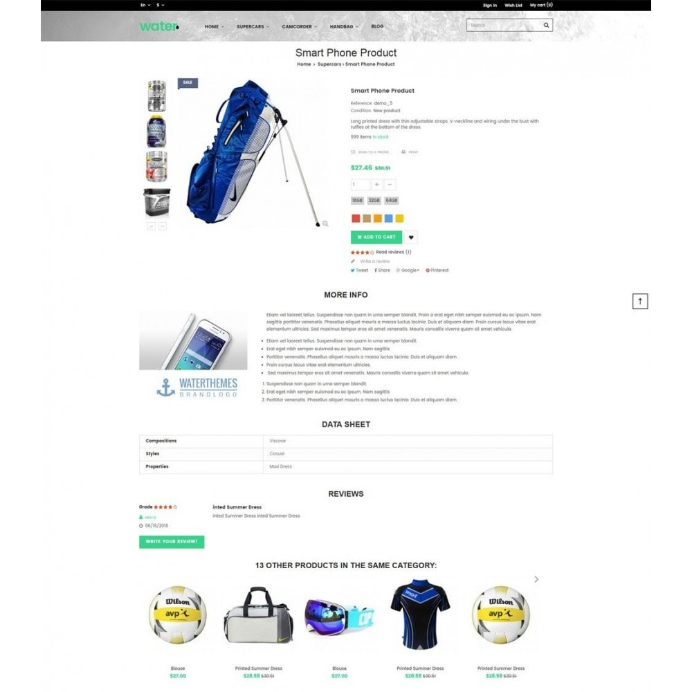 theme - Sport, Loisirs & Voyage - Sport Store - 5