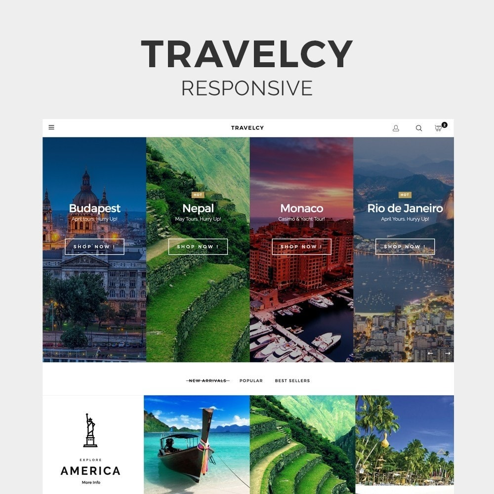 theme - Sports, Activities & Travel - Travelcy - 1