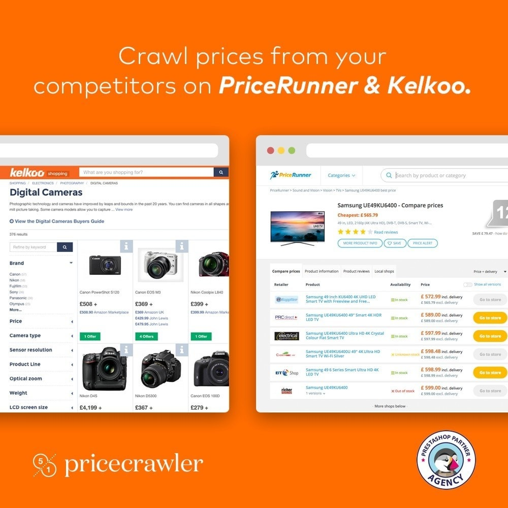 module - Comparateurs de prix - Pricecrawler | Crawl prices from PriceRunner - 1