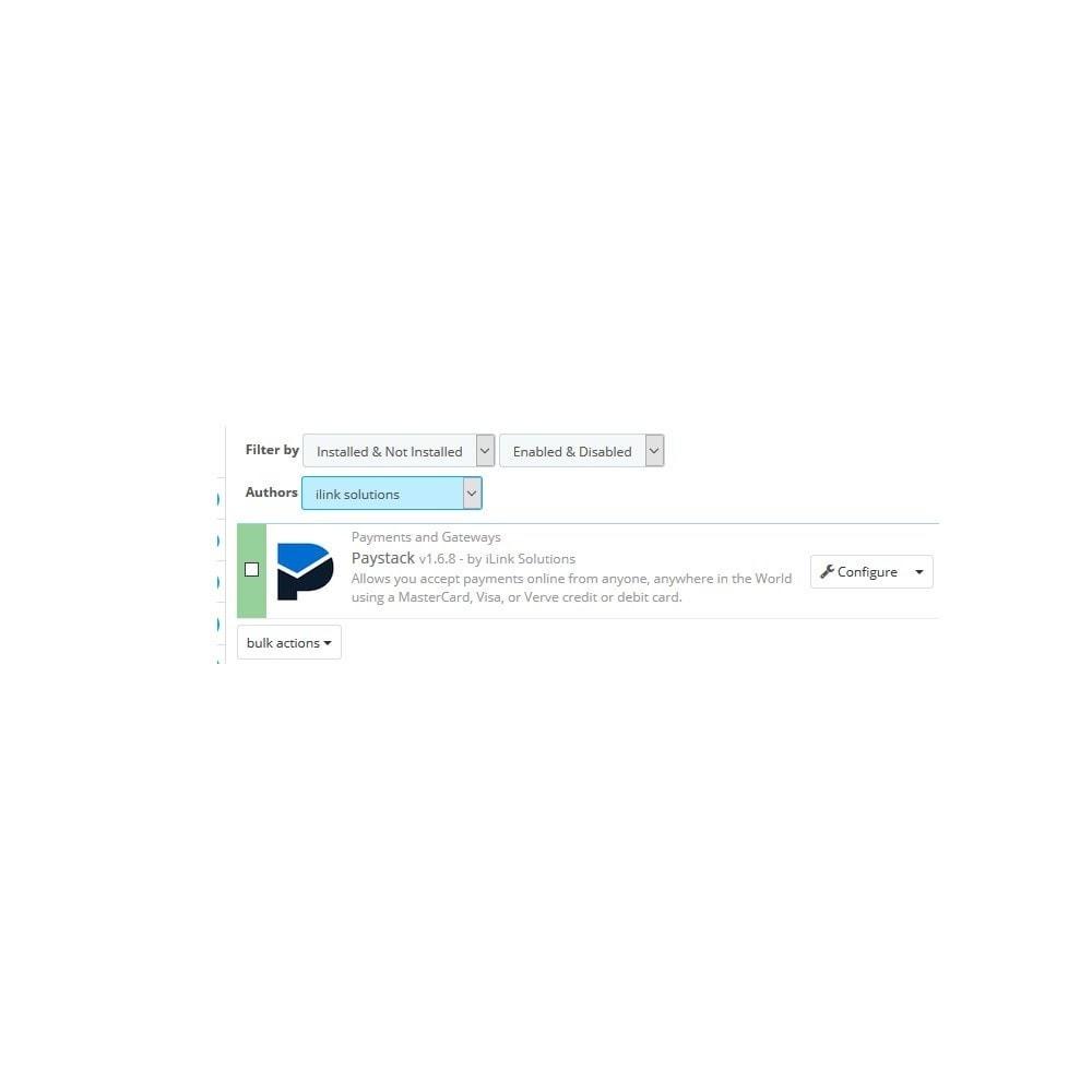 module - Pagamento con Carta di Credito o Wallet - Paystack - 1