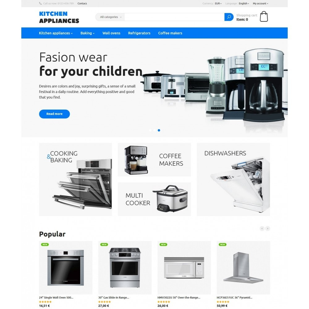 theme - Dom & Ogród - Kitchen Appliances - 2