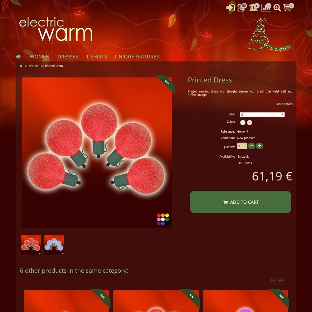 theme - Eletrônicos & High Tech - Electric Warm - 4