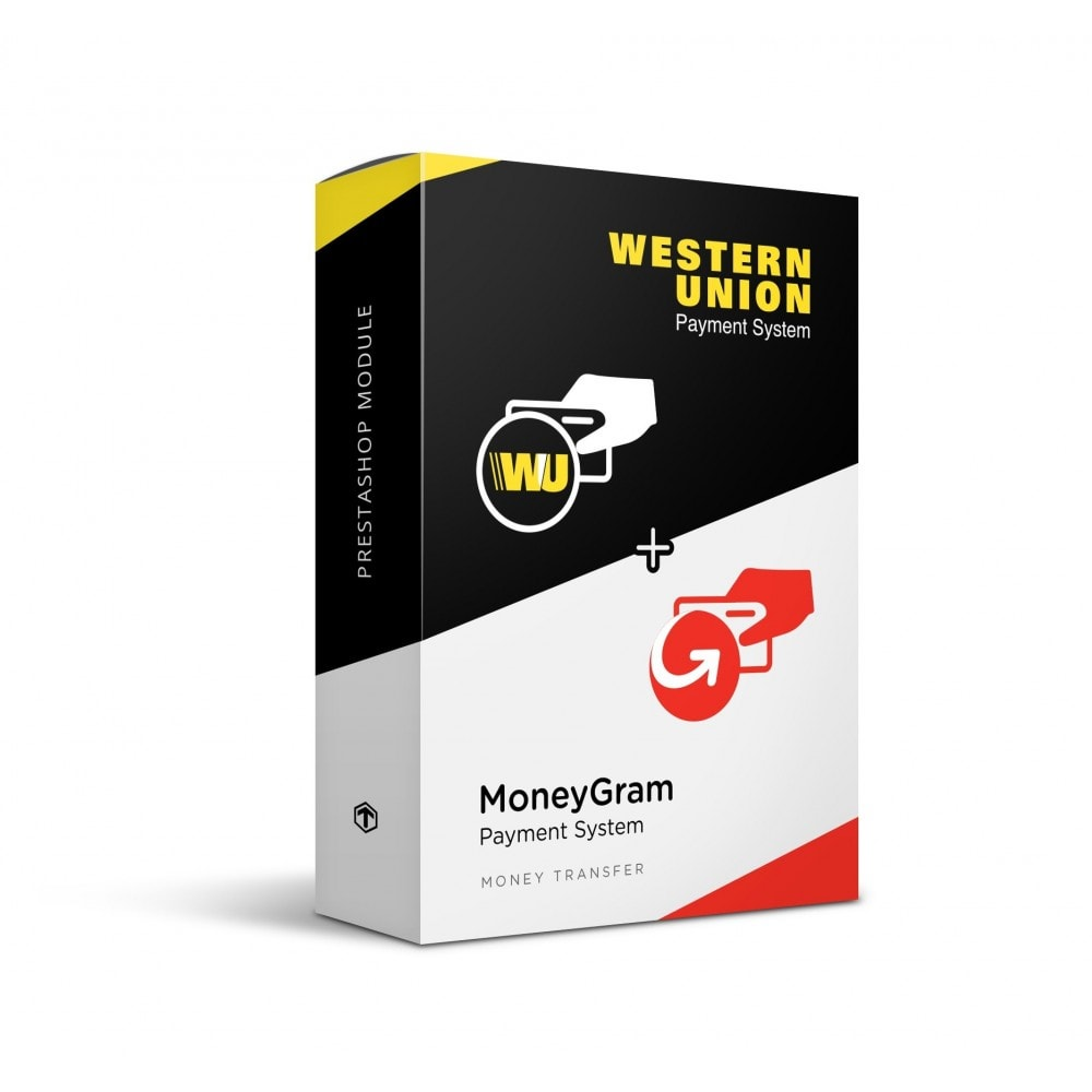 module - Pagamento con Carta di Credito o Wallet - Western Union and MoneyGram with Online Payment button - 1