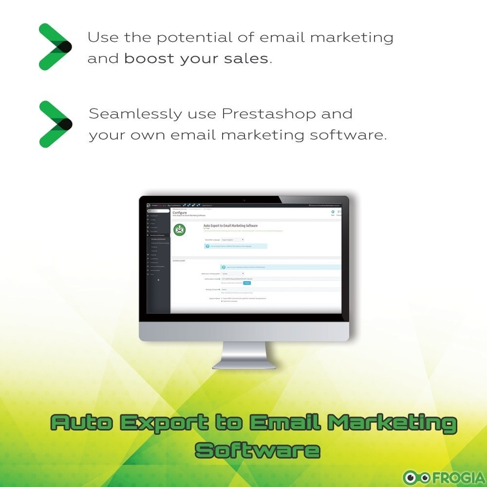 module - E-mails y Notificaciones - Auto Export to Email Marketing Software - 1