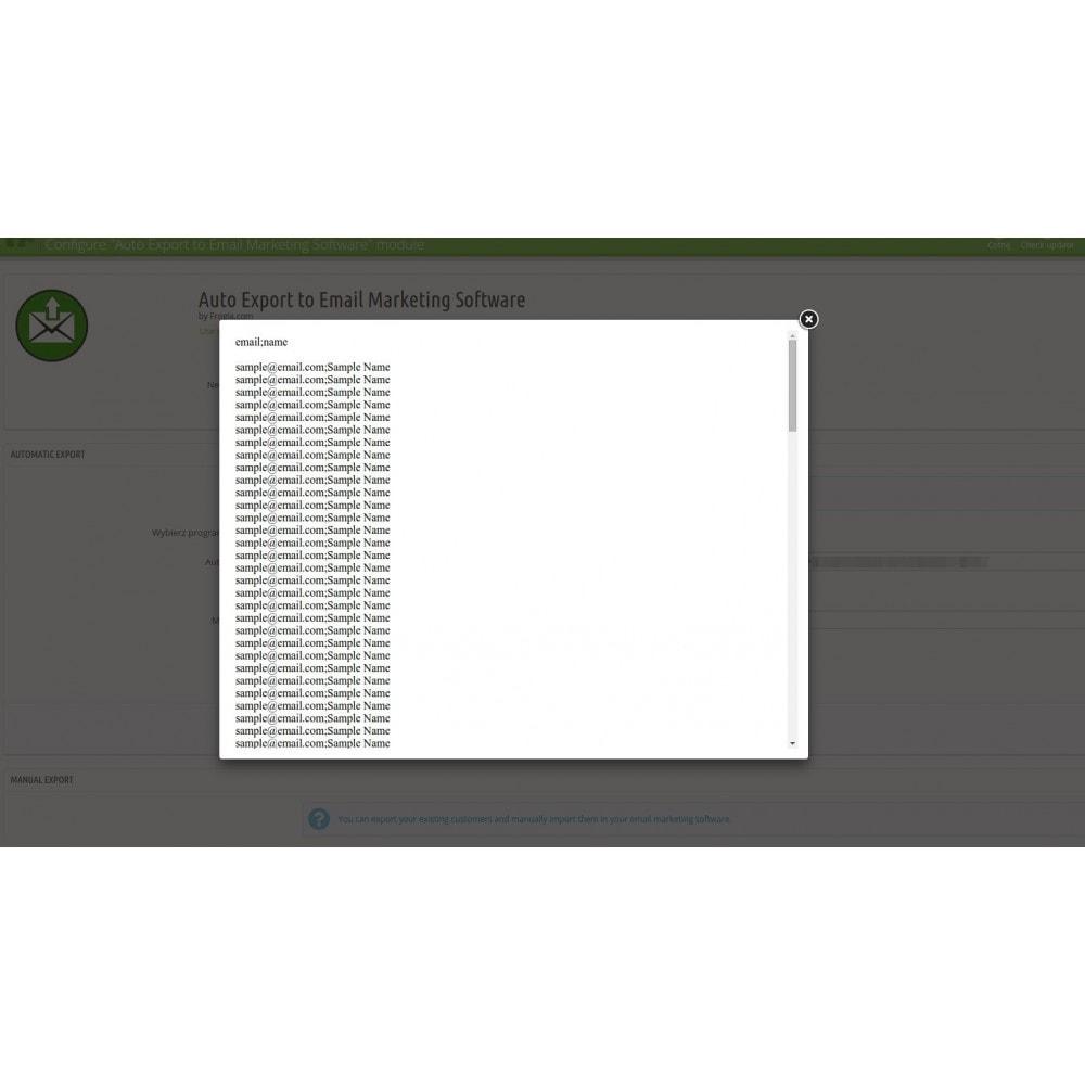 module - E-maile & Powiadomienia - Automatyczny eksport do listy adresowej - 4