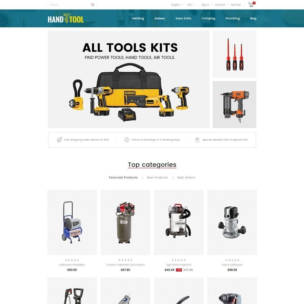 theme - Automotive & Cars - Hand Tools Store - 2