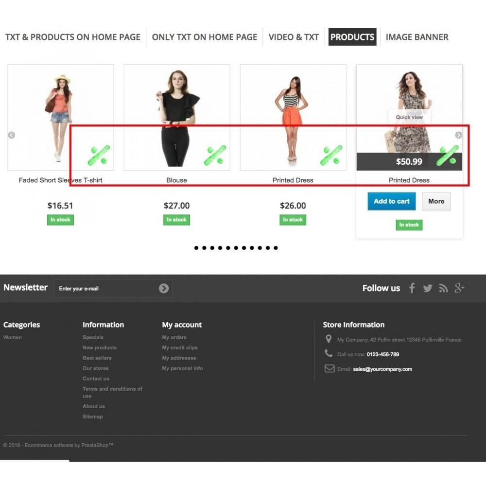 module - Blokken, Tabbladen & Banners - Promo Tabs - 9