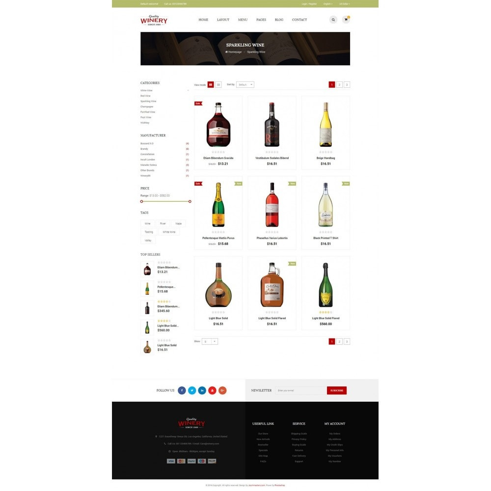 theme - Lebensmittel & Restaurants - JMS Winery - 5