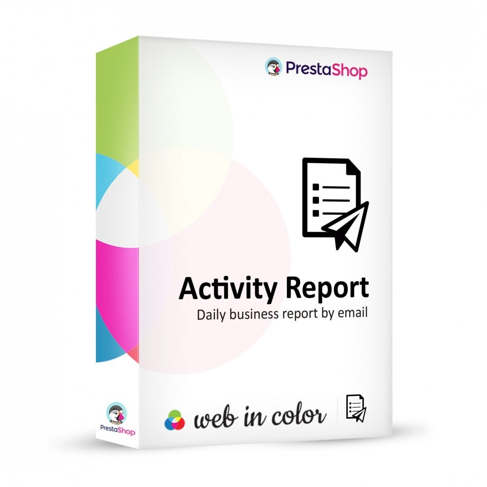 module - Administratieve tools - Activity Report - 1