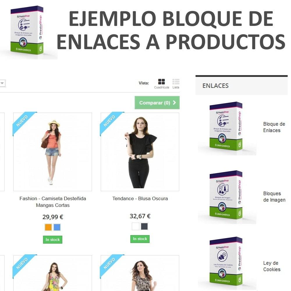 module - Bloques, Pestañas y Banners - Bloque de Enlaces con Imágenes - 3