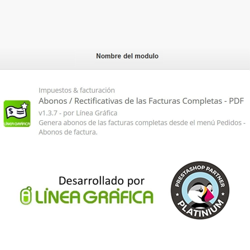 module - Contabilidad y Facturas - Abonos / Rectificativas de las Facturas Completas - PDF - 6