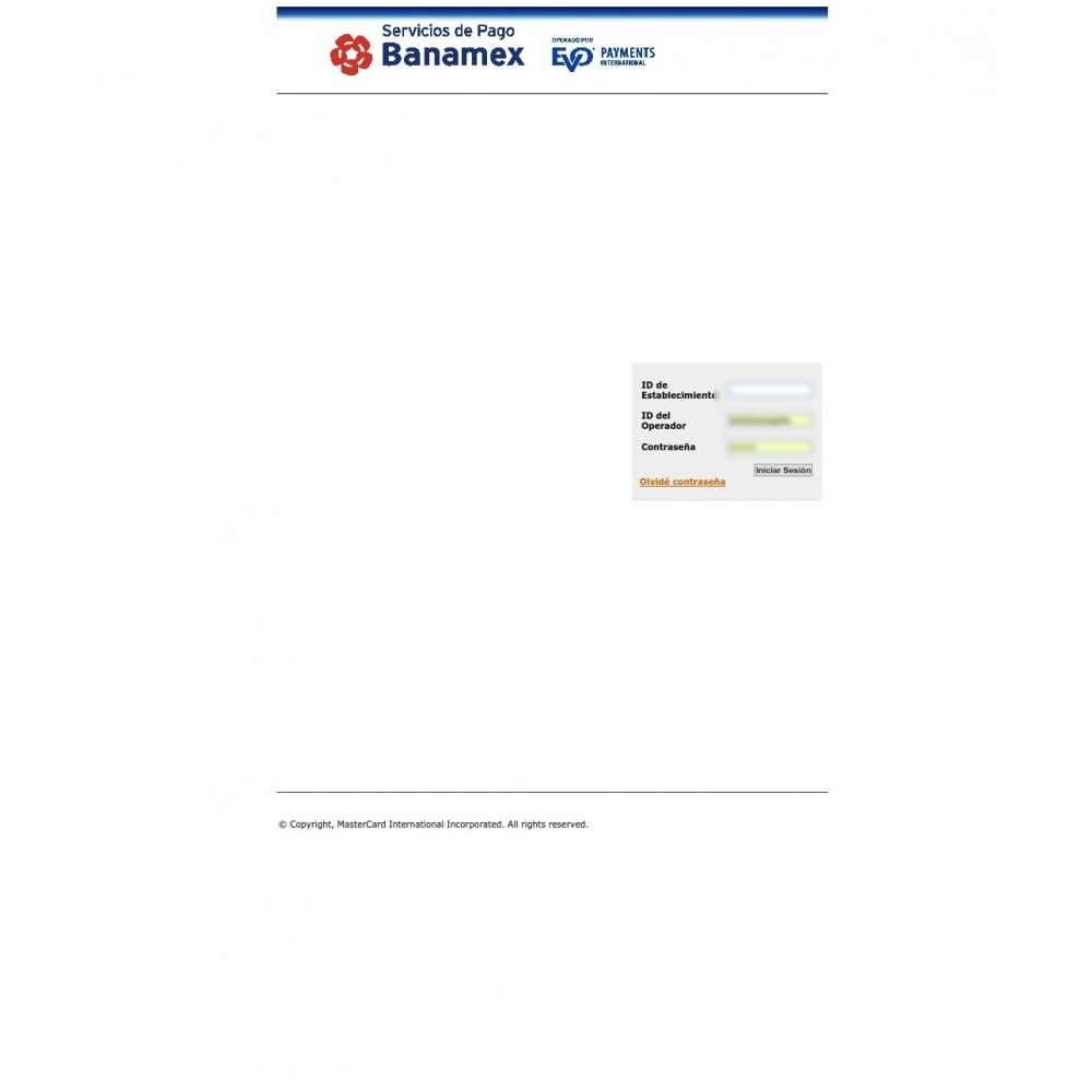module - Pagamento con Carta di Credito o Wallet - Banamex Hosted Checkout Integration - 2