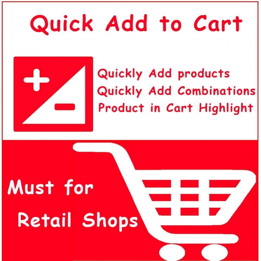 module - Express Checkout - Quick Add to Cart Products Combinations with Quantity - 1