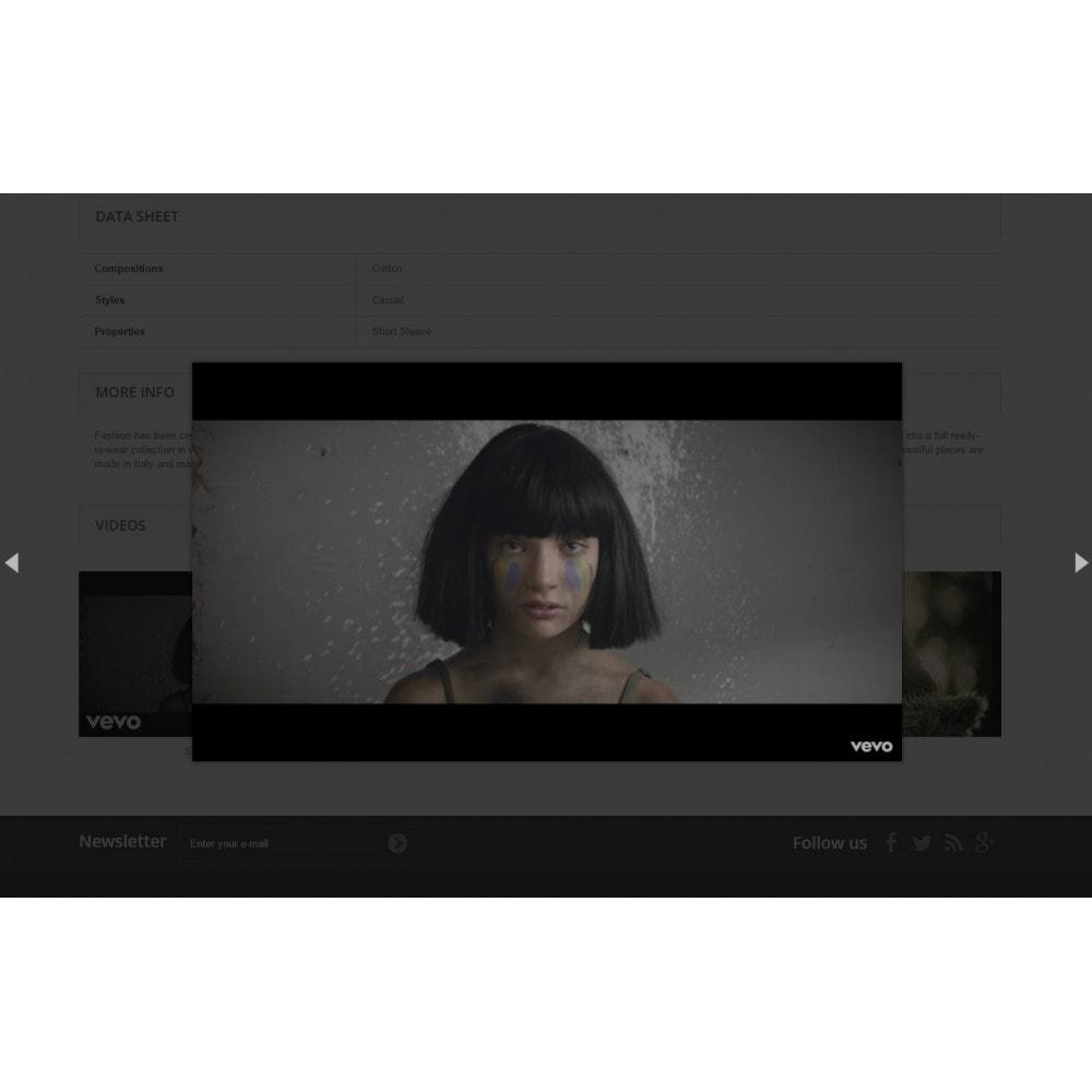 module - Vidéo & Musique - Ultimes vidéos de produits (YouTube, Vimeo, et plus) - 4