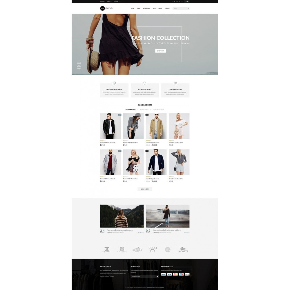 theme - Mode & Chaussures - JMS Goog - 11
