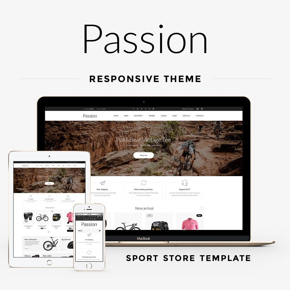 theme - Sports, Activities & Travel - Passion - Sport Store - 1