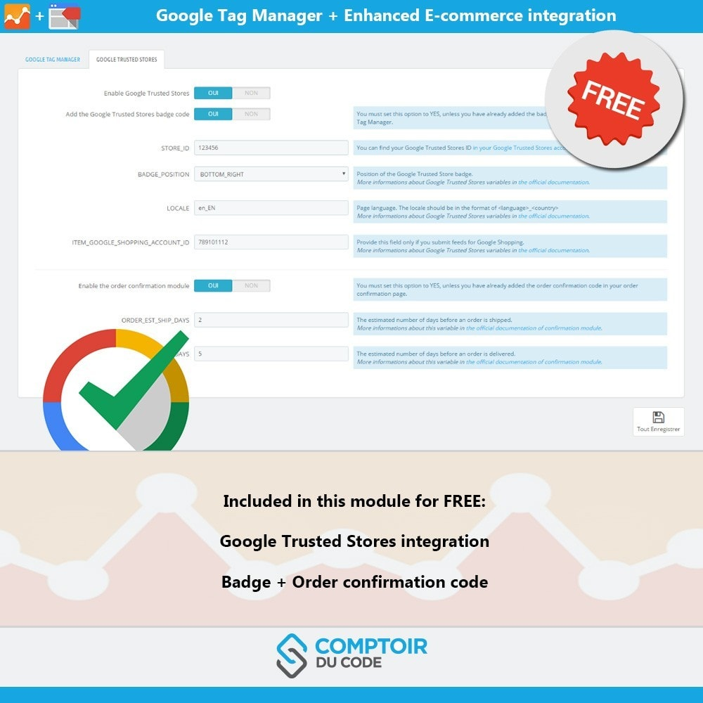 module - Analytics & Statistiche - Google Tag Manager Enhanced Ecommerce (UA) - PRO - 9