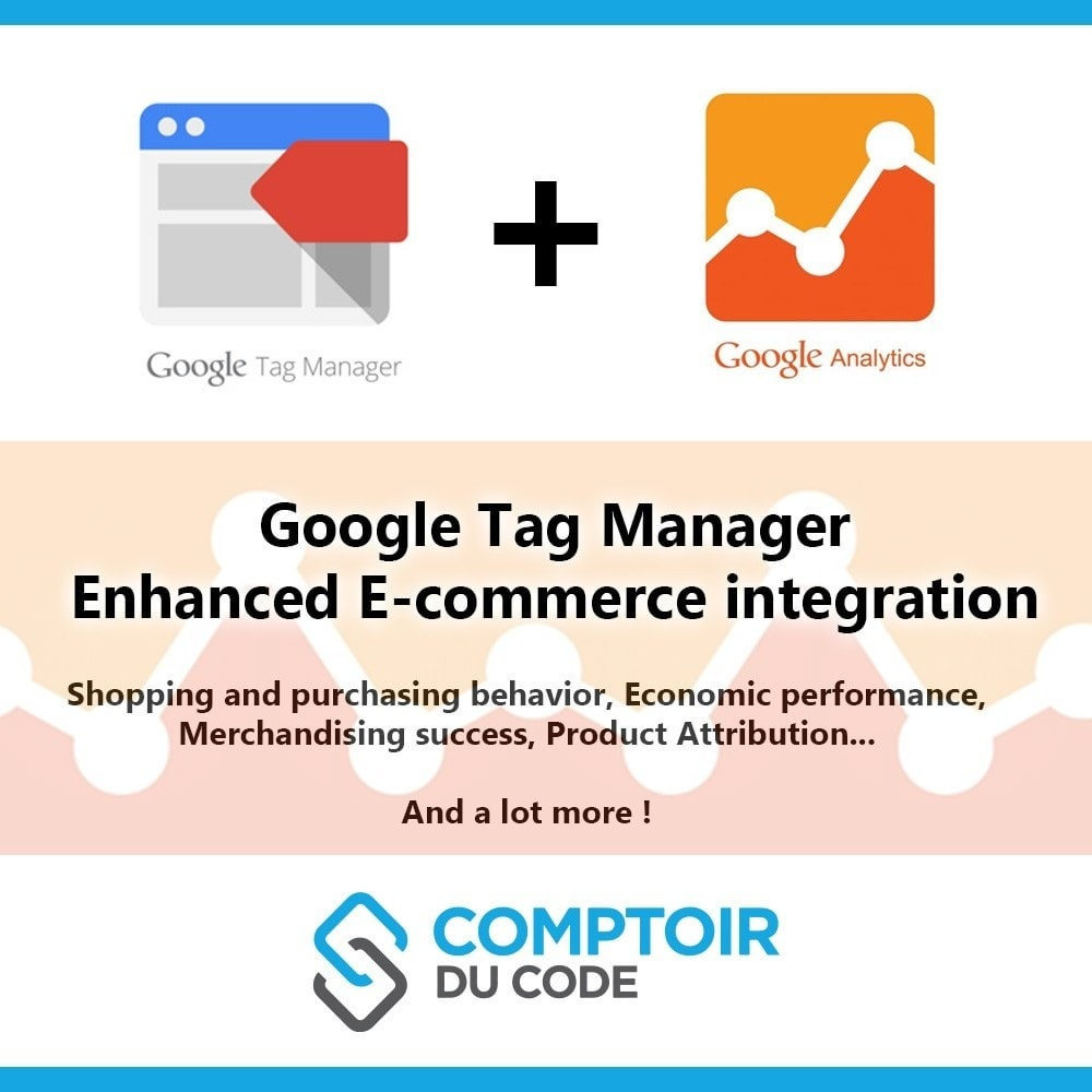 module - Analyses & Statistiques - Google Tag Manager Enhanced Ecommerce (UA) - PRO - 1