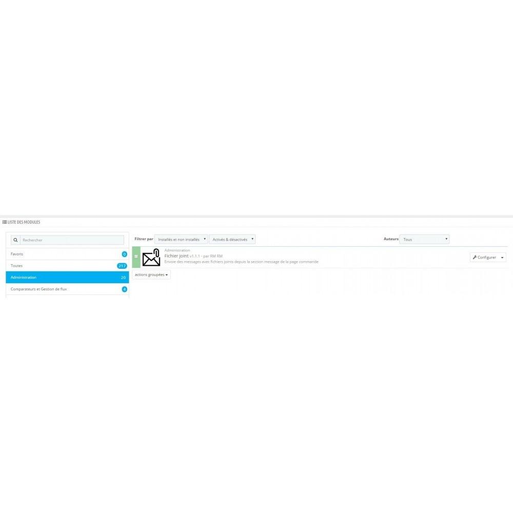 module - Service Client - Fichiers Joints - 2