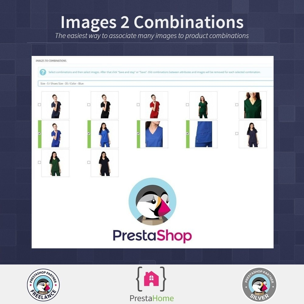 module - Déclinaisons & Personnalisation de produits - Images to combinations - quick method - 1