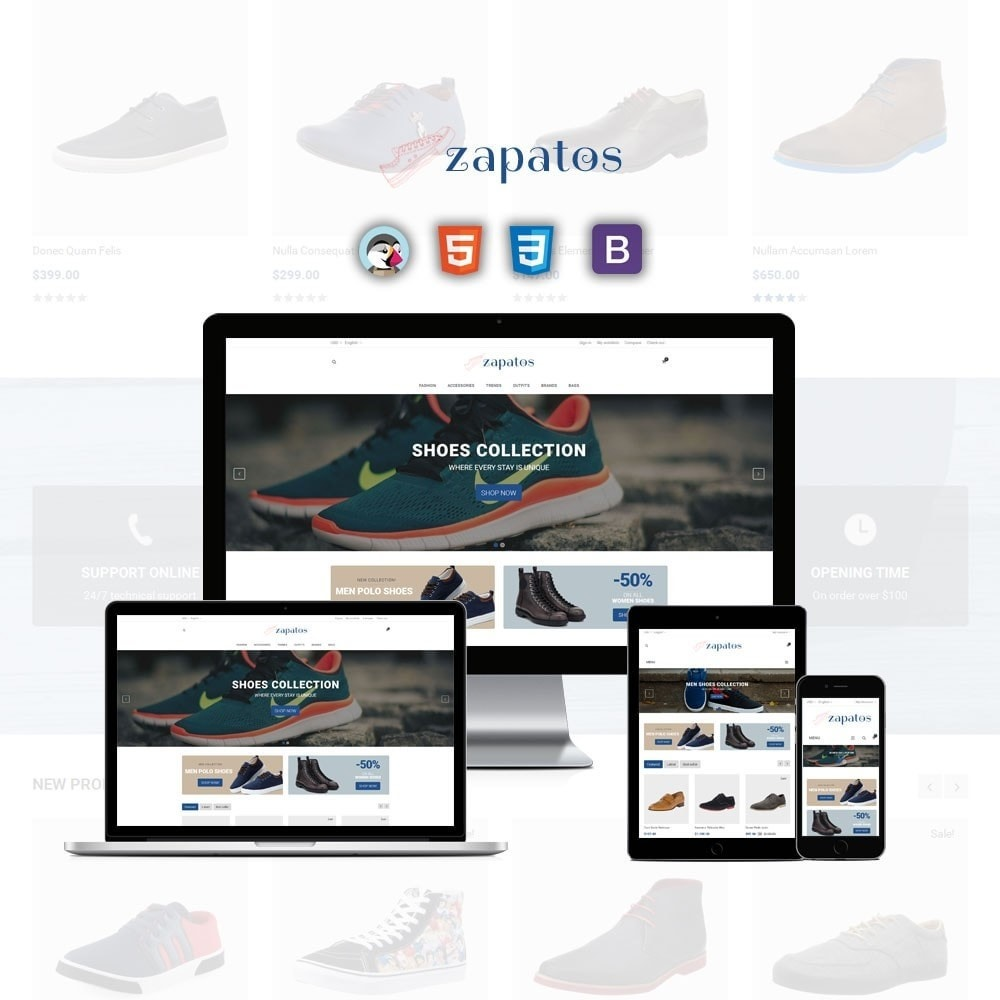 theme - Mode & Schuhe - Zapatos Shoes Store - 1