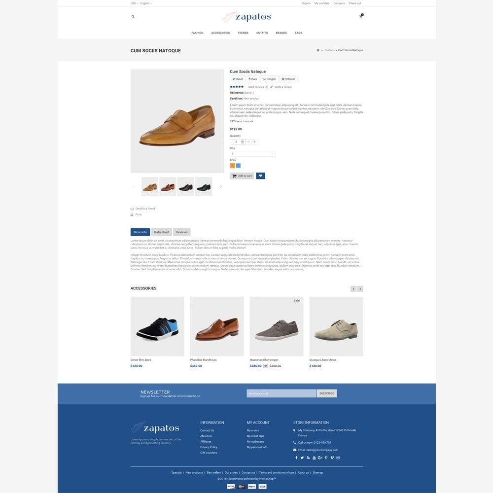 theme - Mode & Schuhe - Zapatos Shoes Store - 5