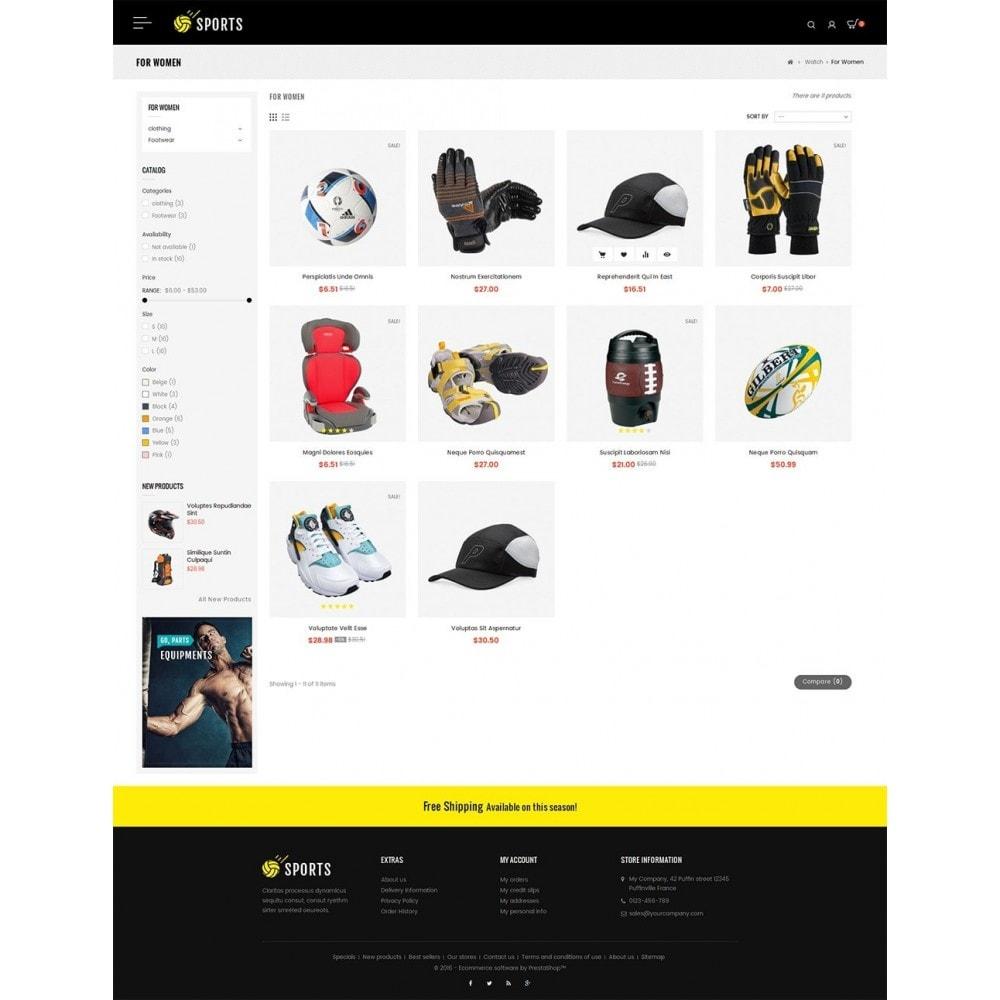theme - Спорт и Путешествия - Sports Store - 3