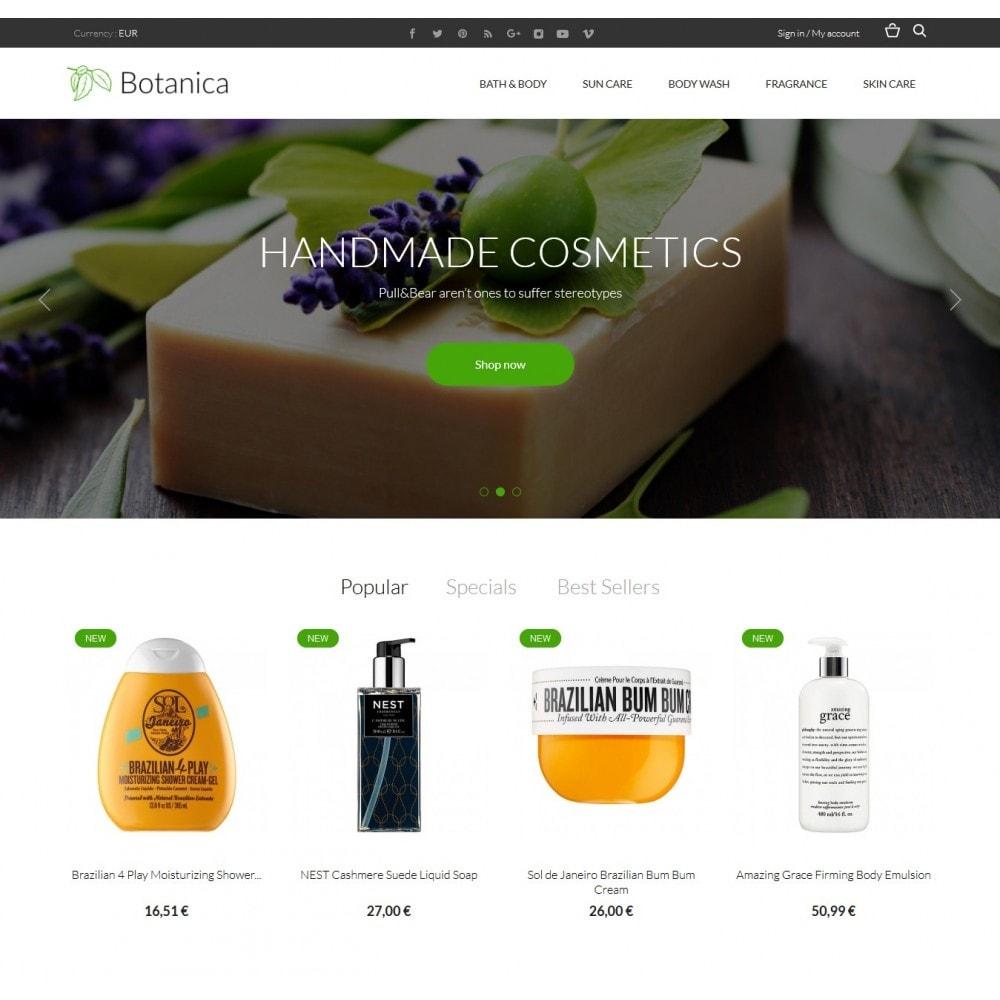 theme - Santé & Beauté - Botanica Cosmetics - 2