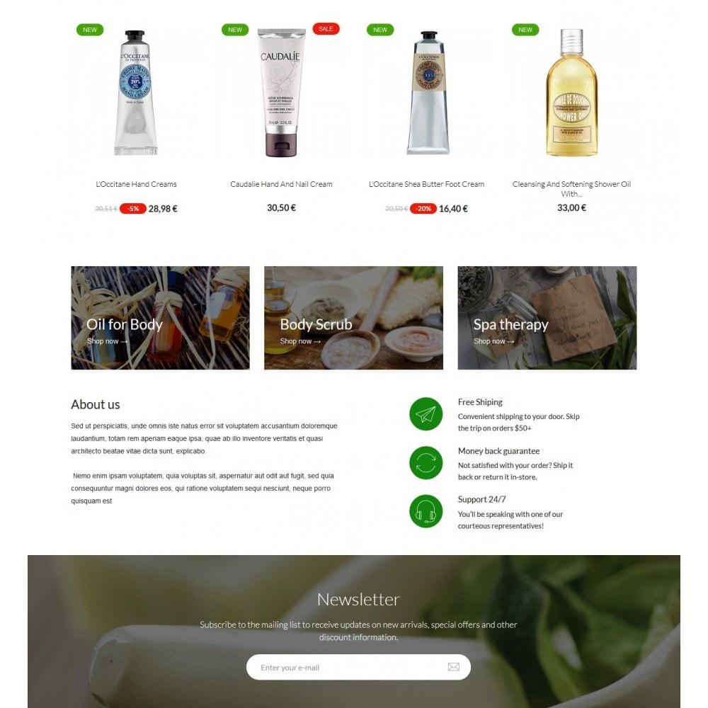 theme - Santé & Beauté - Botanica Cosmetics - 3