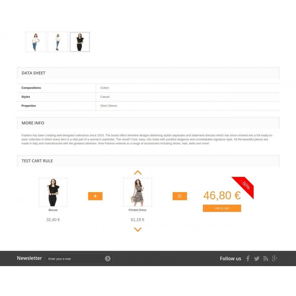 module - Promotions & Cadeaux - Visualisation des règles du panier - 5