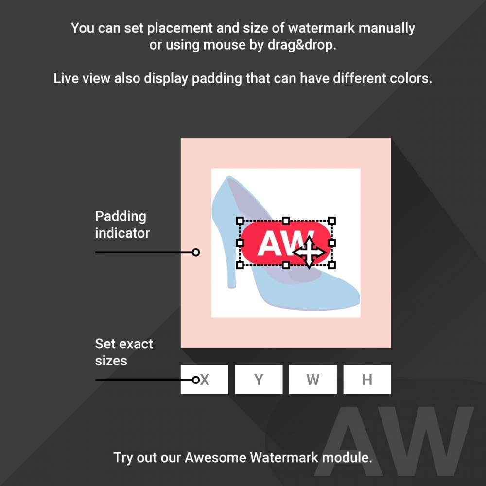 module - Badges & Logos - Awesome watermark and AJAX product photo regeneration - 4