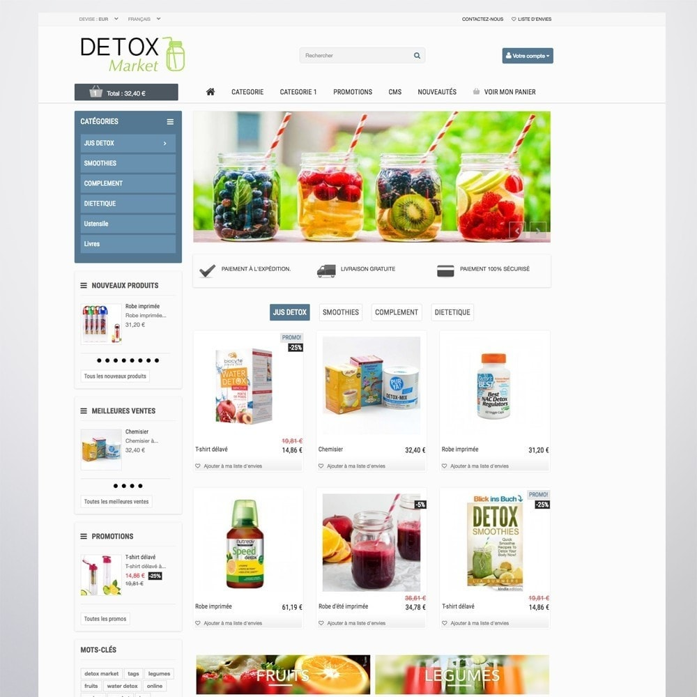 theme - Salute & Bellezza - Detox Market - 3