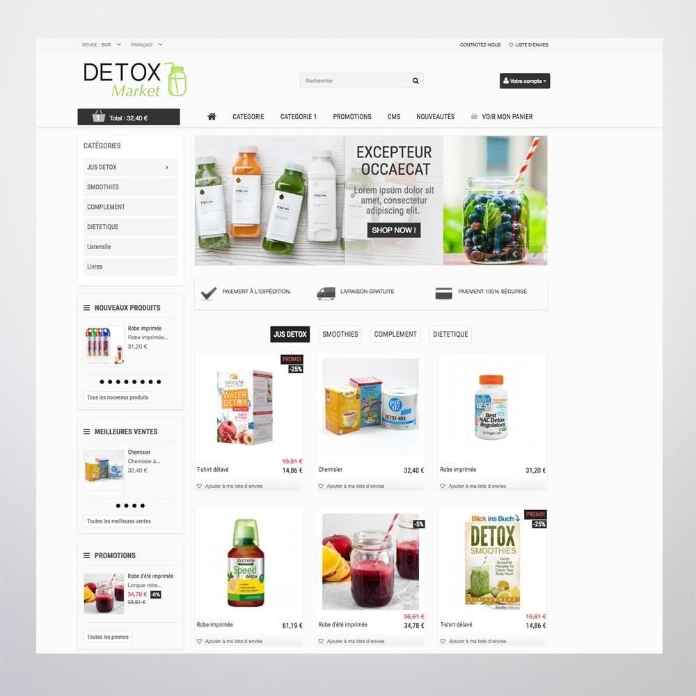 theme - Gesundheit & Schönheit - Detox Market - 4