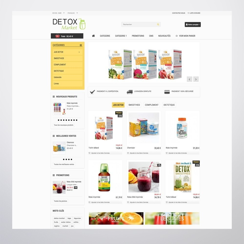 theme - Health & Beauty - Detox Market - 5
