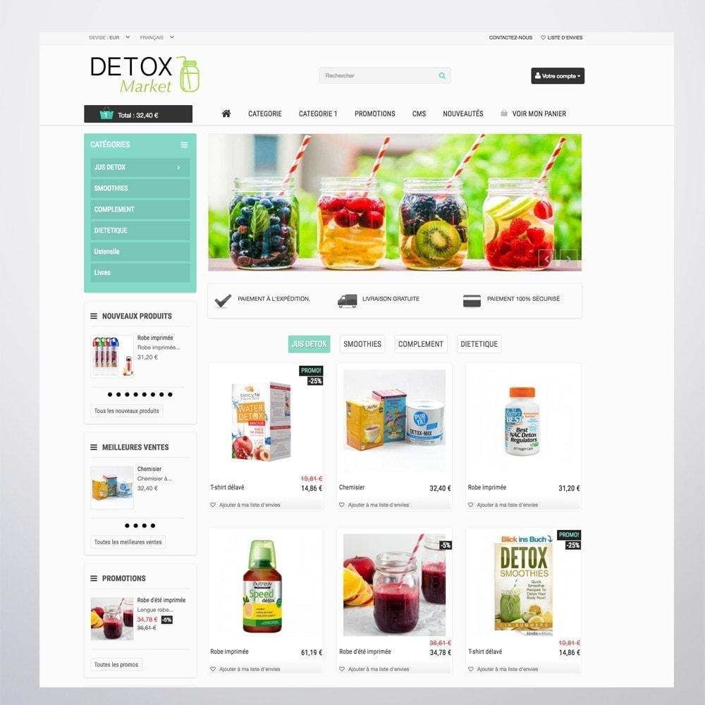 theme - Salute & Bellezza - Detox Market - 7