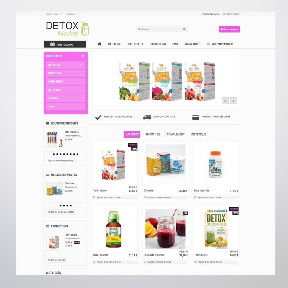theme - Health & Beauty - Detox Market - 8