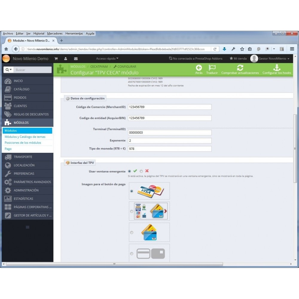module - Pago con Tarjeta o Carteras digitales - CECA TPV Realizar pagos seguros con tarjeta de crédito - 6