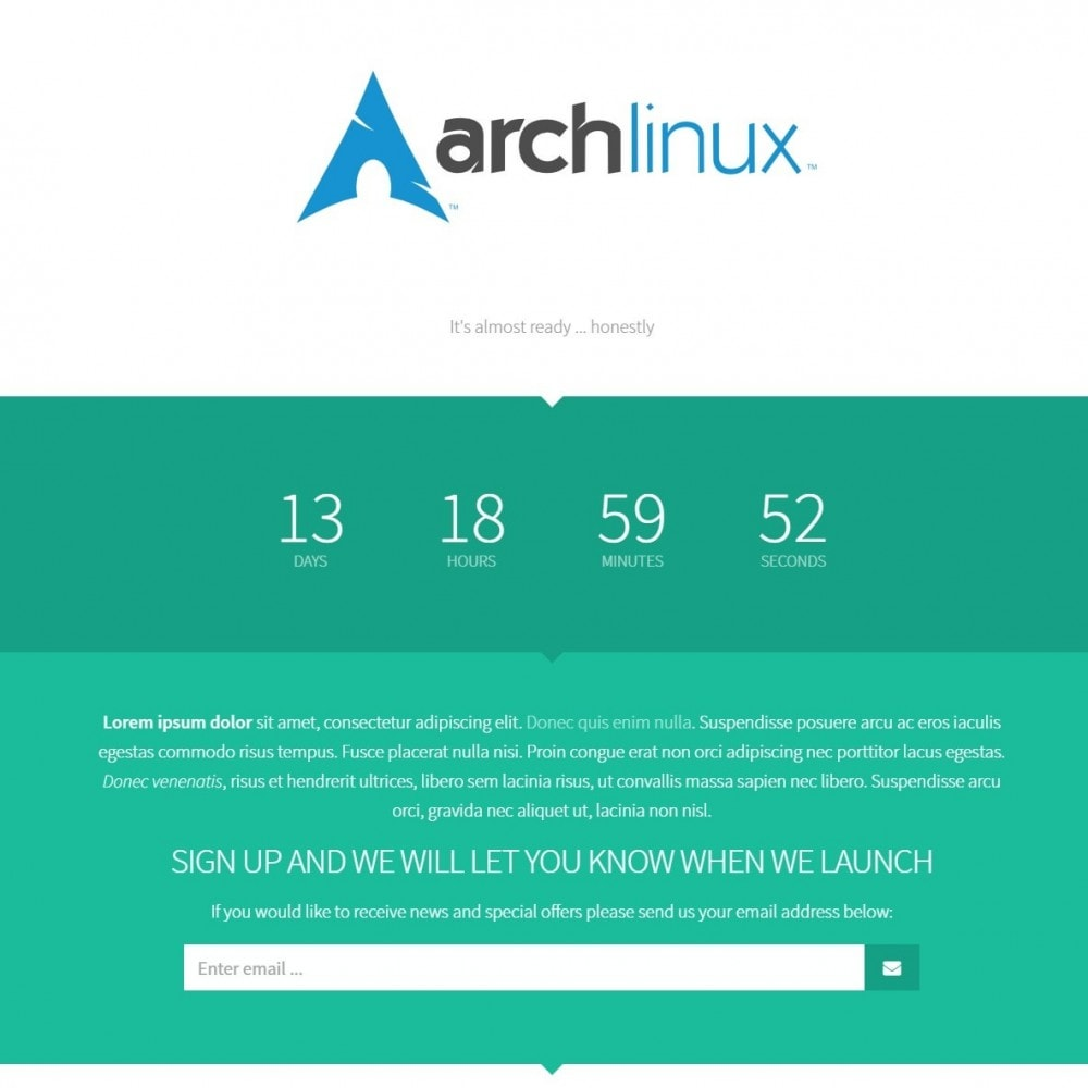 module - Page Customization - Maintenance Pro - Coming Soon pages with countdown - 5