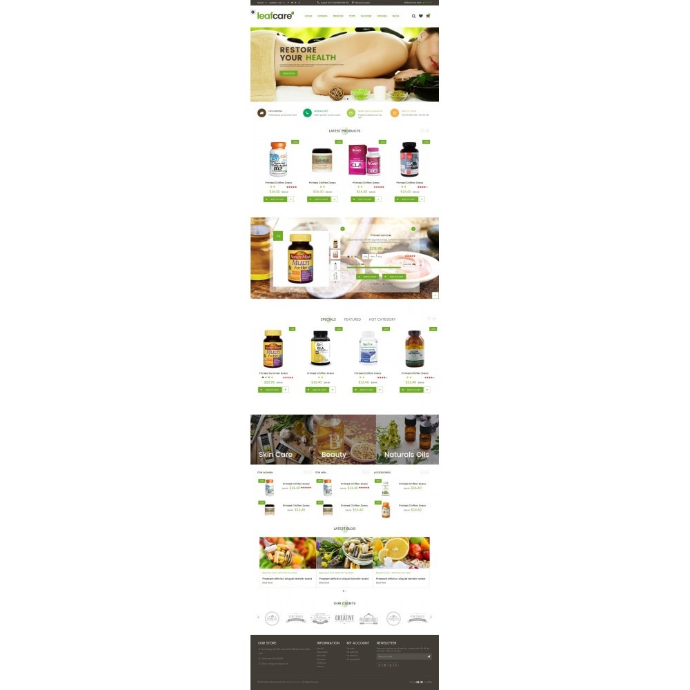 theme - Salute & Bellezza - LeafCare - Bio Medical Store - 5