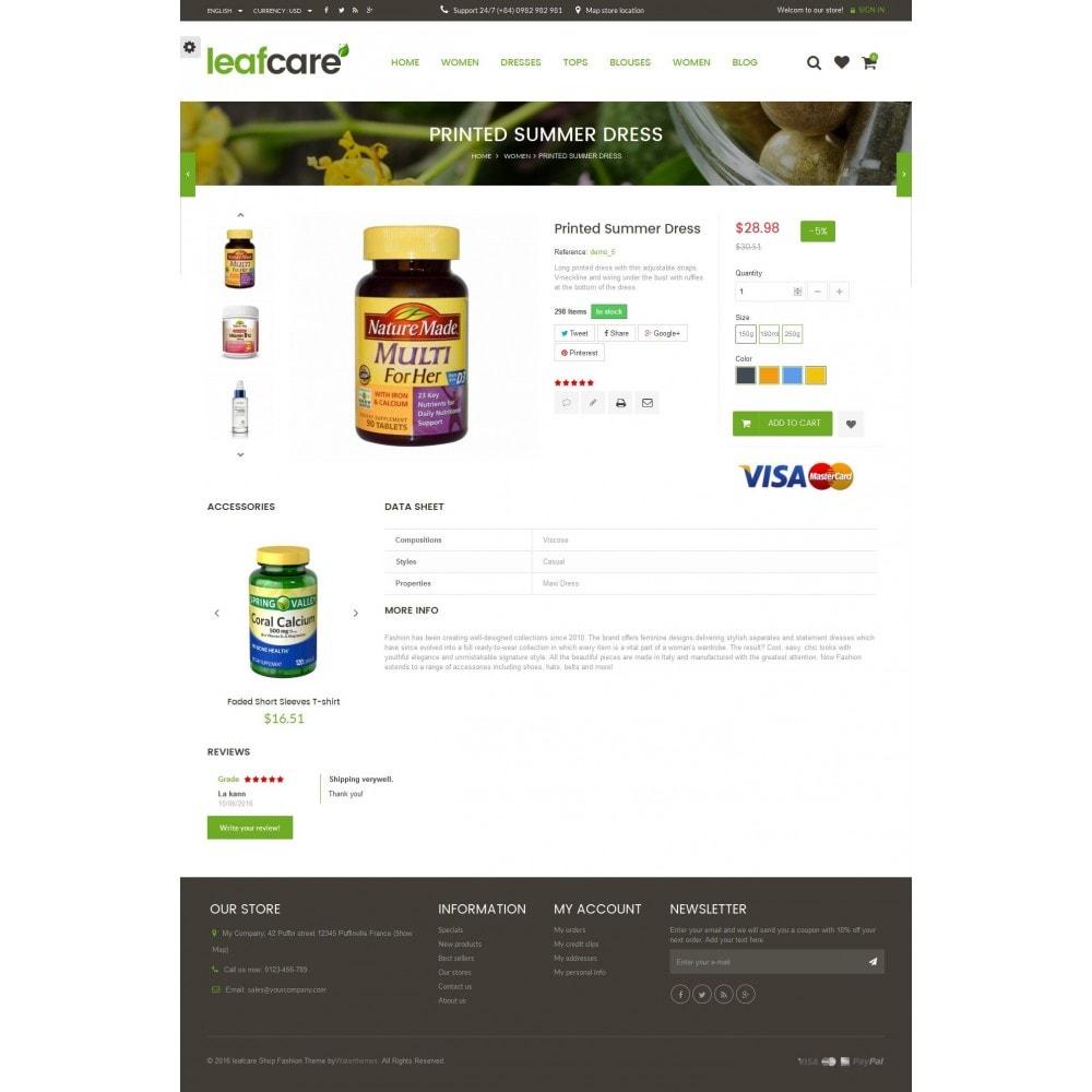 theme - Saúde & Beleza - LeafCare - Bio Medical Store - 8