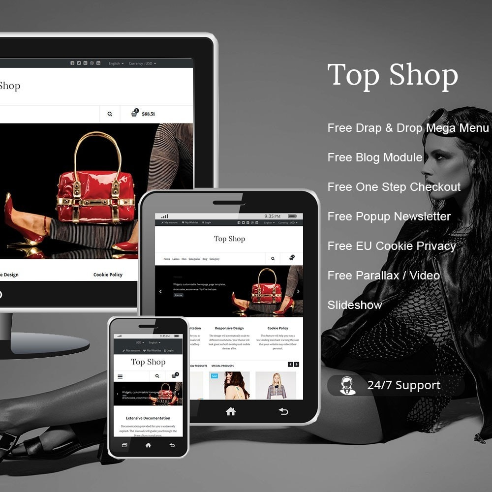 theme - Moda & Calzature - TopShop Fashion Store - 1