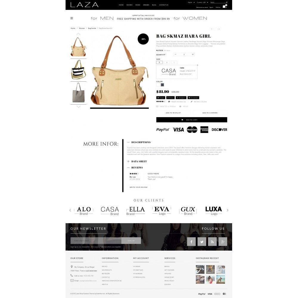 theme - Fashion & Shoes - Laza Fashion Store - 4