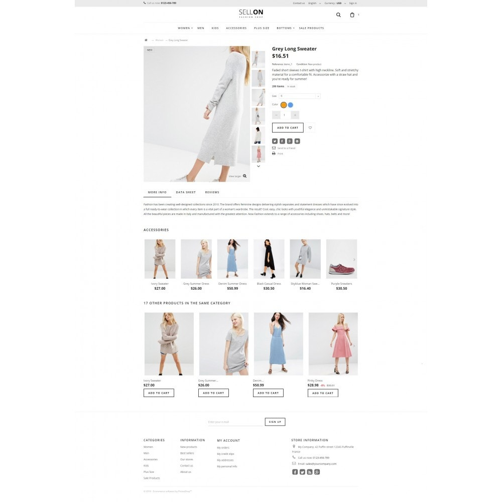 theme - Moda & Calzature - Sellon - 5