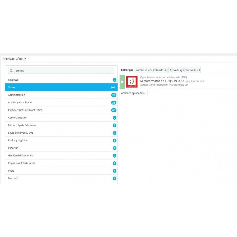 module - SEO (Posicionamiento en buscadores) - Microformatos Google Rich Cards en LD+JSON - 3
