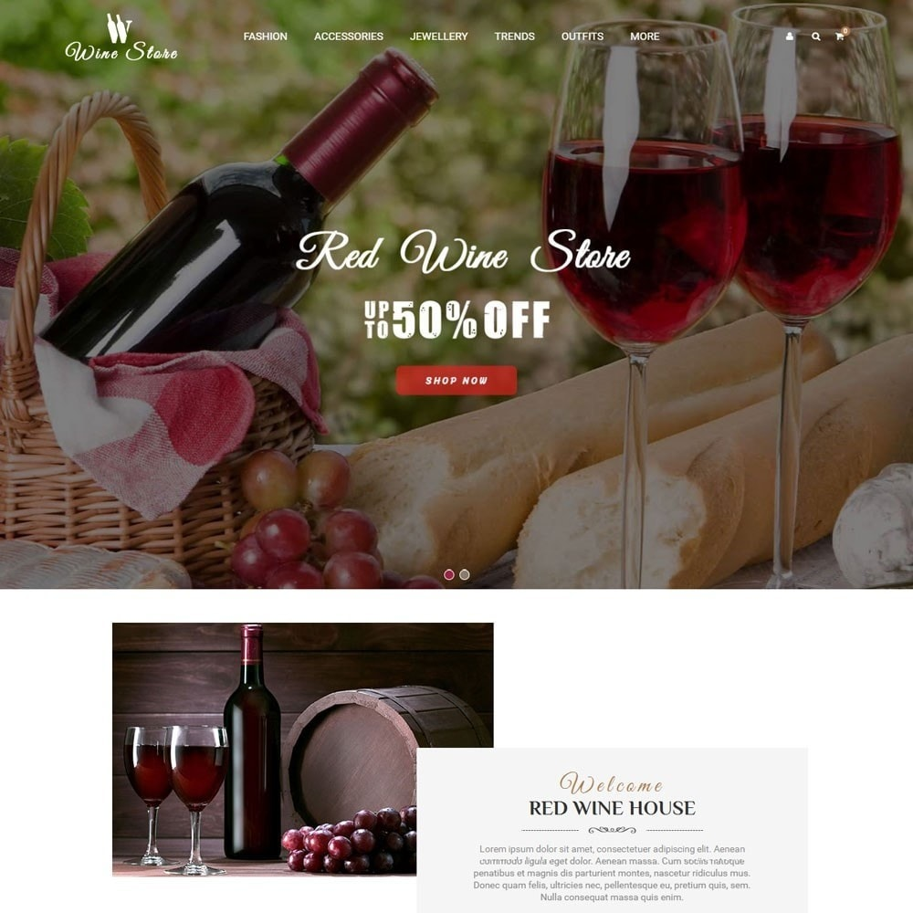 theme - Drink & Tobacco - Wine Store - 2