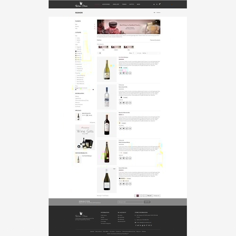 theme - Drink & Tobacco - Wine Store - 6