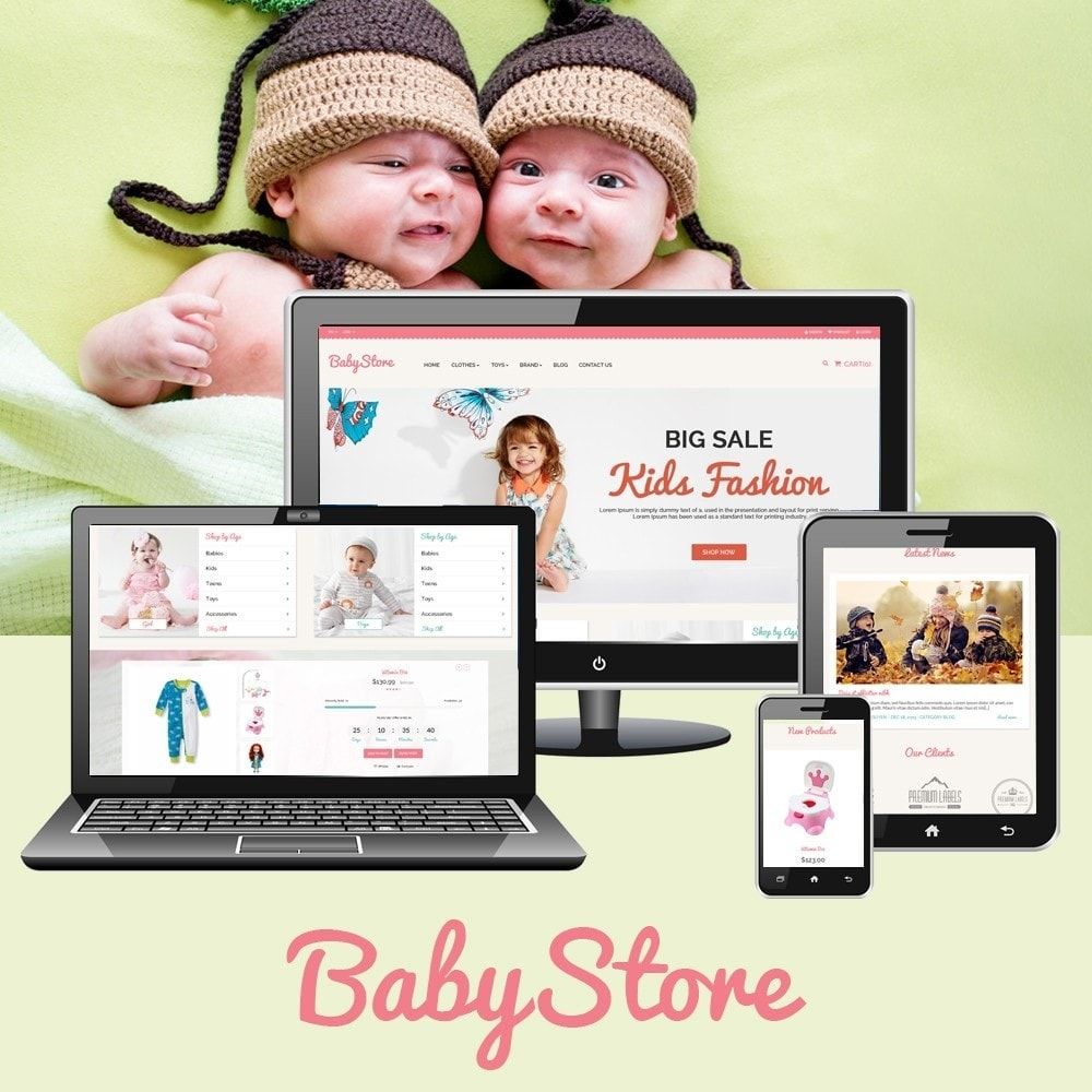 theme - Kids & Toys - Smart Baby And Kids Store - 1