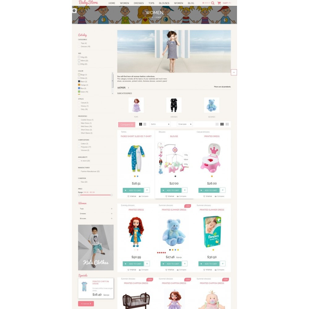 theme - Niños y Juguetes - Smart Baby And Kids Store - 5