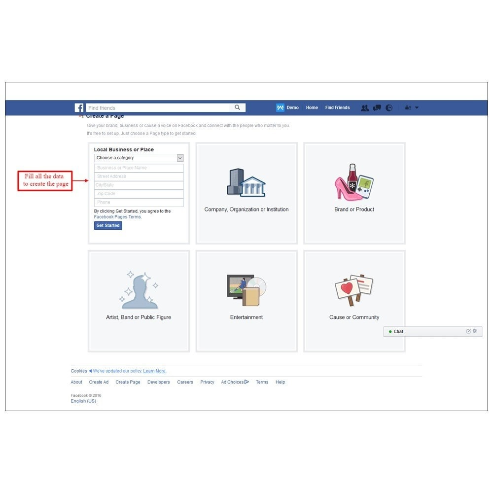 module - Products on Facebook & Social Networks - E-Store - Social Promotions | Fan Page - 15