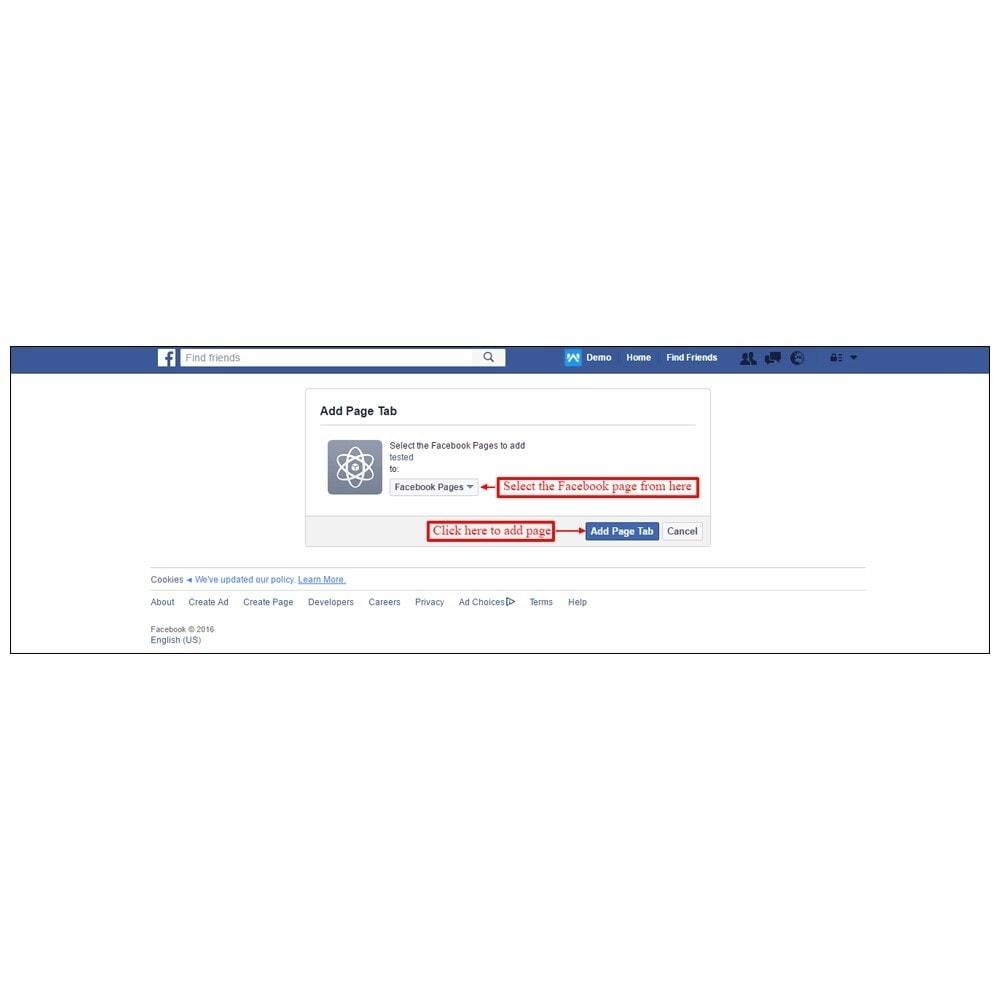 module - Produkten op Facebook & sociale netwerken - Webkul Social promotion of E-store - 20